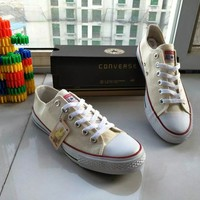"""Converse Chuck Taylor All Star"" Women Sport Casual Low Help Shoes Canvas Shoes Classic Cloth Shoes"