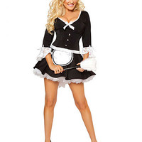 Flirty French Maid Costume | Sexy Clothes Womens Sexy Dresses Sexy Clubwear Sexy Swimwear | Flirt Catalog