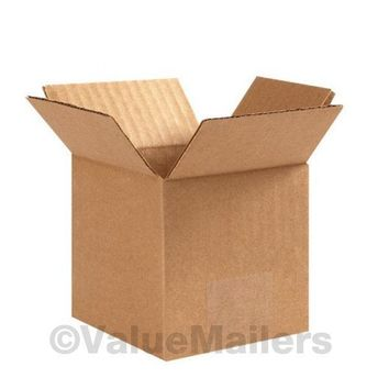 100 Boxes 50 each 5x5x5, 6x6x6 Shipping Packing Mailing Moving Corrugated Carton