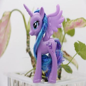 One piece my cute gift pvc horse Collection Princess Luna action toy figures doll