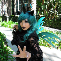 Fantasy Changeling wings - Chrysalis - MLP - My Little Pony: Cosplay, Costuming, Cons, Halloween,