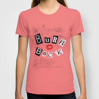 The Burn Book - Mean Girls movie T-shirt by AllieR | Society6