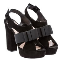 Miu Miu e-store · Shoes · Sandals · Sandals 5XP564_Z4K_F0806_F_120