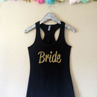 Bride Tank Top, Bridesmaid Tank Top, Maid of Honor Tank Top, Bridal Party Tank Tops, Cute Tank Tops, Bride Shirt, Bridesmaid Gifts, Bride