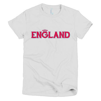 "Women's ""ENGLAND"" T-Shirt"