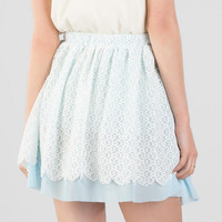 Clarita Lace Skirt