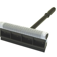 """Carrand 9263 8"""" Squeegee Head with 20"""" Plastic Handle"""
