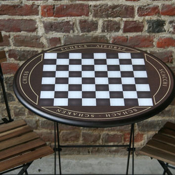 original chess table playfield 40x40cm