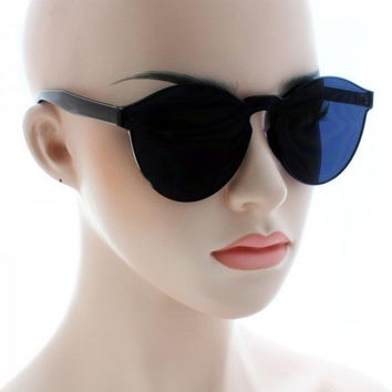 Women Cat Eye Transparent Candy Sunglasses Sun Shades Men Luxury 8 Colors New