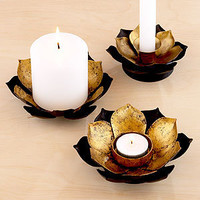 Lotus Candleholders, Sets of 2 | Candles and Candleholders| Home Decor | World Market