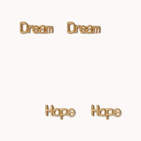Hope & Dream Stud Set