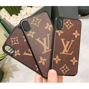 LV Louis Vuitton Classic Women Men iPhone Phone Cover Case For iphone 6 6s 6plus 6s-plus 7 7plus iPhone X XR XS XS MAX