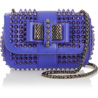 Christian Louboutin - Sweety Charity mini spiked leather shoulder bag