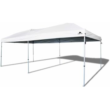 Ozark Trail 20x10 Straight Leg Instant Canopy (200 sq. ft Coverage)