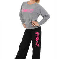 #Gymnast Black Fleece Sweatpant on FlipNFit.com