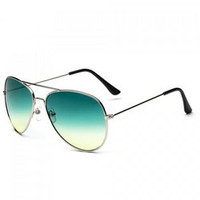 Chic Ombre Candy Color and Alloy Frame Design Sunglasses For Women