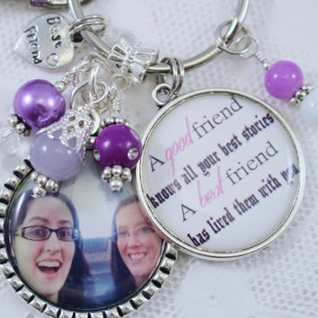 Personalized, BEST FRIEND GIFT, Personalized Best Friend Key Chain, Best Friend Christmas Gift, Gift for Best Friend, Bff Christmas Gifts