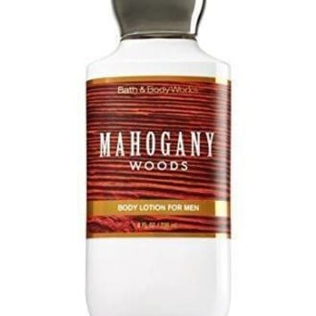 Bath & Body Works MAHOGANY WOODS FOR MEN Body Lotion 8 oz