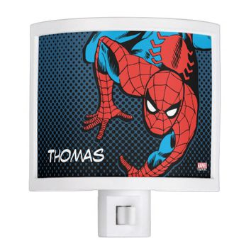 Retro Spider-Man Wall Crawl Night Light