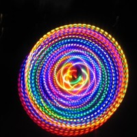 "36"" - 24 Strobing LED Hula Hoop - THE FUSION"