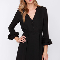 Maggie May Black Dress