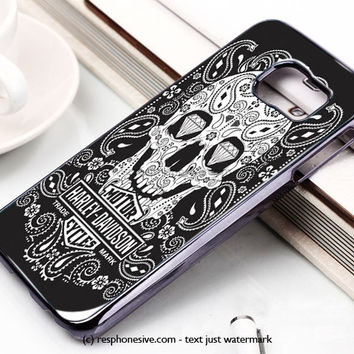 Harley Davidson Logo Samsung Galaxy S6 and S6 Edge Case