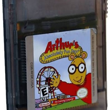 Arthur's Absolutely Fun Day - GameBoy Color (Game Only)