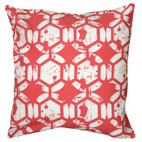 """Two Sided Printed Coral Pillow Cover (20"""" x 20"""")"""
