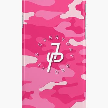 'Jake Paul pink camo' iPhone Case/Skin by JakePL