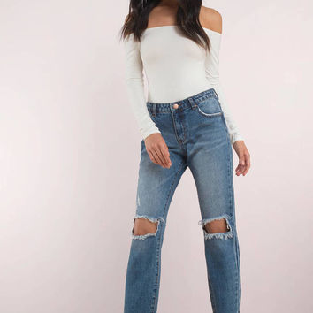 Mulholland Mid Rise Cropped Jean