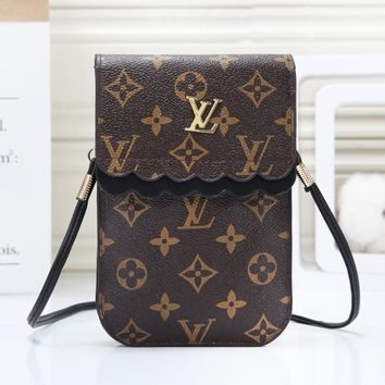 Louis Vuitton LV Fashion New Monogram Print Leisure Shoulder Bag Women