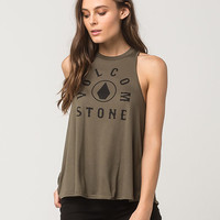 VOLCOM Cover Ur Basics Womens Tank | Graphic Tanks