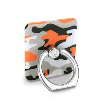 Orange Camo Phone Ring