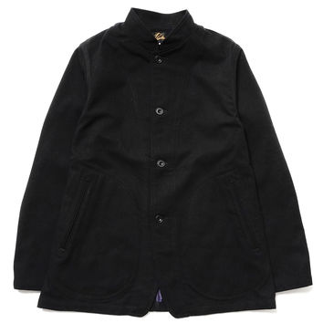 Mao Collar Arrow Jacket - W/C Serge