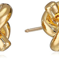 kate spade new york Sailor's Knot Gold-Tone Stud Earrings