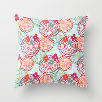Balls Throw Pillow by Louise Machado