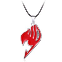 MOSU Fairy Tail 4 colors Pendant&Necklace High Quality non-fading environmental Jewelry