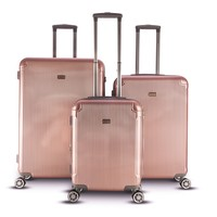 Gabbiano Genova Collection 3 Piece Spinner Hardside Luggage Set | Overstock.com Shopping - The Best Deals on Three-piece Sets