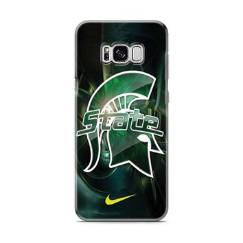 Michigan State nike Samsung Galaxy S8 | Galaxy S8 Plus Case