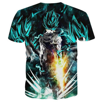2017 New Fashion Anime T-shirt Men/Women 3d Tshirt Boy/Girl Cartoon Print T shirt Summer Tops Tees P