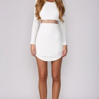 HelloMolly | Hush Hush White Dress - Back In Stock - Most Loved
