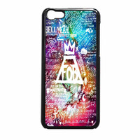 Fall Out Boy Lyric Collage iPhone 5c Case