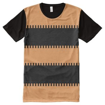 Apparel All-Over Printed Panel T-Shirt