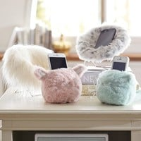 Cozy Lux Faux Fur Mini Animal Phone Holders