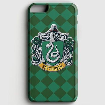 Hoghwart School  Slytherin iPhone 6/6S Case