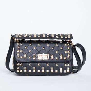 Decked Out Studded Bag