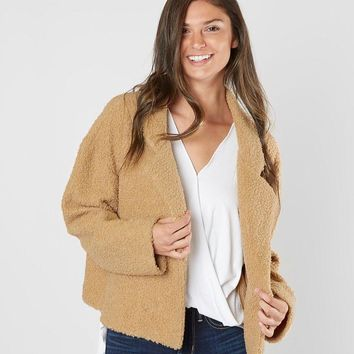 BKE Sherpa Jacket - Women's Coats/Jackets in Cream | Buckle