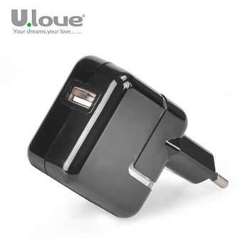 Ulove Universal Travel USB Charger Adapter Wall Portable EU Plug Mobile Phone Smart Chargers Docks For Samsung LG Huawei
