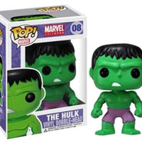 POP! Marvel Series 1 POP Hulk Vinyl Bobble Head