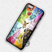 Pokemon X Y Eevee - iPhone 7 6 Plus 5c 5s SE Cases & Covers #cartoon #pokemon